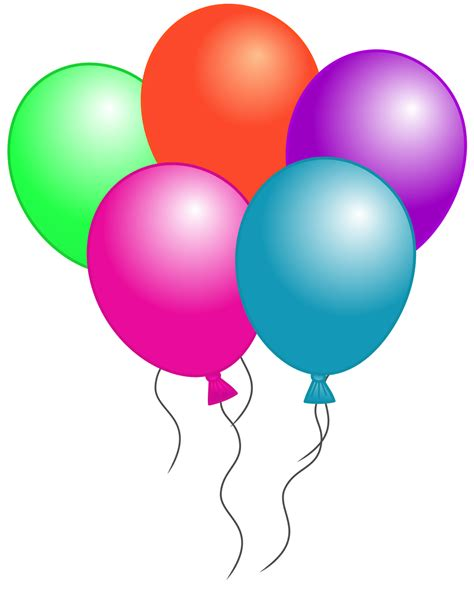 clipart ballo classroom treasures birthday balloons