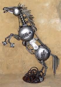 virgo tattoo designs scrap metal sculptures 29 impressive art 35 photos pictures