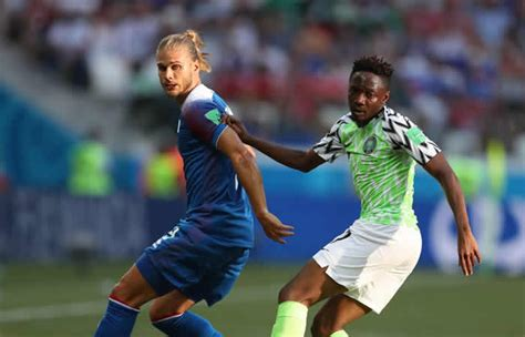 nigeria vs iceland we re still in the race says iceland