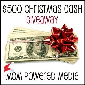 Free Christmas Giveaways 2012 - blogger opportunity 500 christmas cash giveaway saving cent by cent