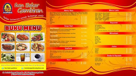 desain daftar menu jus desain daftar menu kreatif jasa desain grafis murah