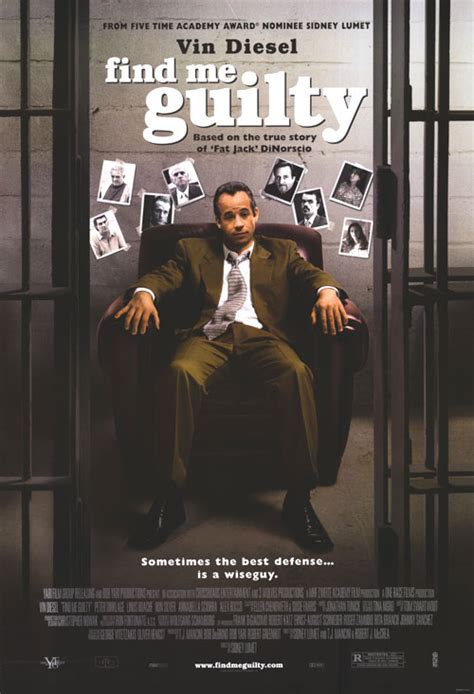 Find Guilty 2006 Film Find Me Guilty Movie Posters At Movie Poster Warehouse Movieposter Com