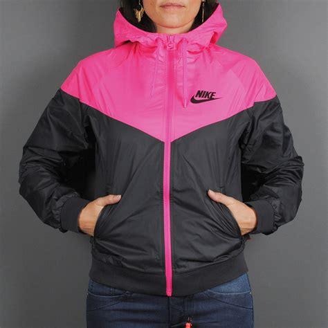 Nike Windrunner Pink Black Urbanpeople Windbreaker Nike Windrunner Black