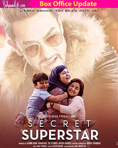 one day film box office secret superstar box office collection day 1 aamir khan s