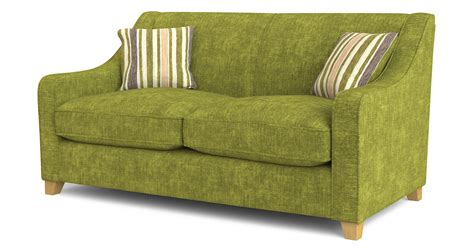 lime green sofa dfs rachel lime green fabric 2 seater sofa bed ebay