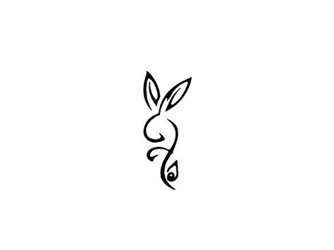 symbol of rabbit tattoo wallpaper cute tattoo