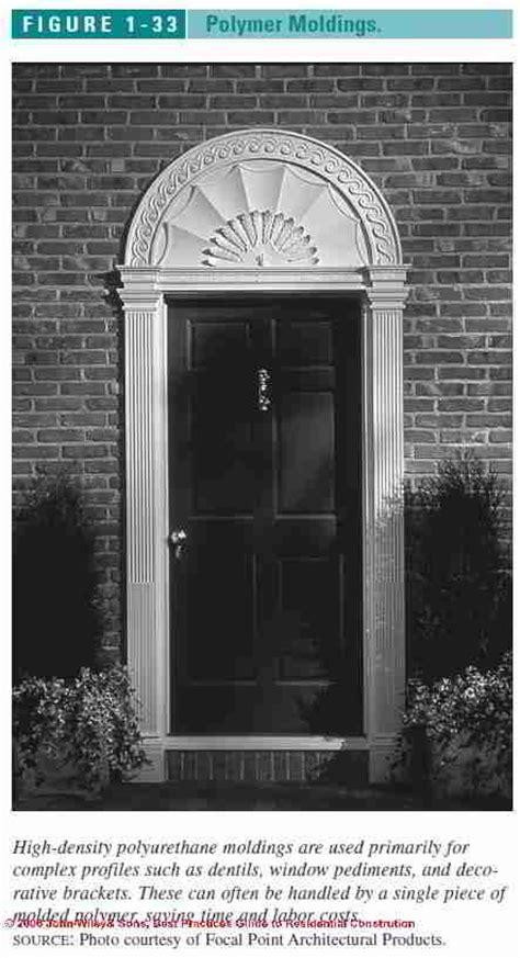 Decorative Exterior Door Moulding Crboger Decorative Exterior Door Trim Yes Home Ideas
