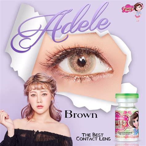 Softlens Vire Brown Pretty Doll jual softlens adele free ongkir softlensmurahku