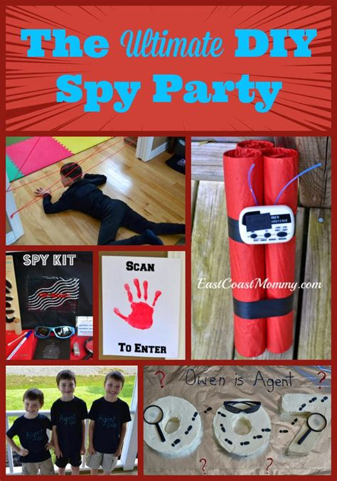 Marvelous Kids Christmas Goodie Bags #9: DIY_spy_party.jpg