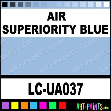 air superiority blue ua mimetic airbrush spray paints lc ua037 air superiority blue paint