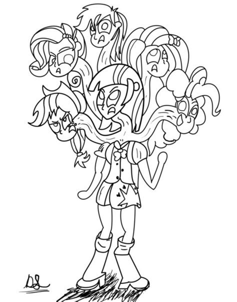 luna girl coloring page luna equestria girl coloring pages