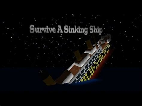 How To Survive A Sinking Boat roblox survive a sinking ship