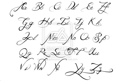 tattoo script alphabet fonts 13 best calligraphy fonts alphabet images free