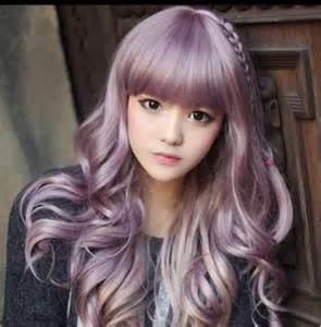 lilac color hair silver pastel lilac hair funky hairstyles to