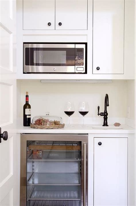 small cabinet microwave small butler pantry with microwave and glass front