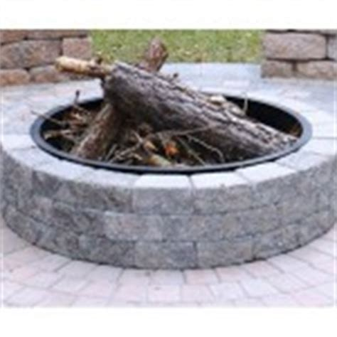 pit insert ring steel insert for ring pit fireplace design ideas
