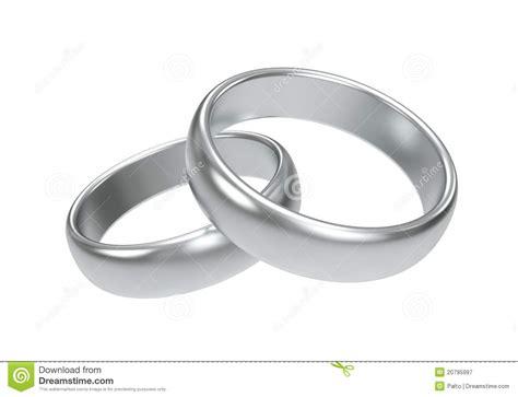 Ringe Silberhochzeit by Ringe Der Silbernen Hochzeit Lizenzfreie Stockfotografie