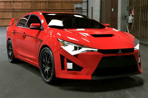 mitsubishi sports car 2018 2017 mitsubishi lancer evolution revealed carsautodrive