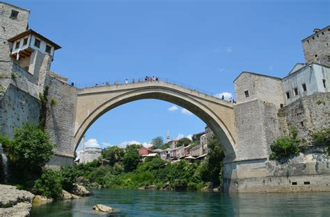 view from the bridge the economist mostar and the old bridge traveler for life