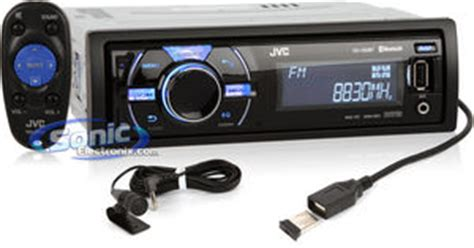 Jvc Kd X50bt Bluetooth Verbinden by Jvc Kd X50bt Kdx50bt Car Stereo Receiver W Built In