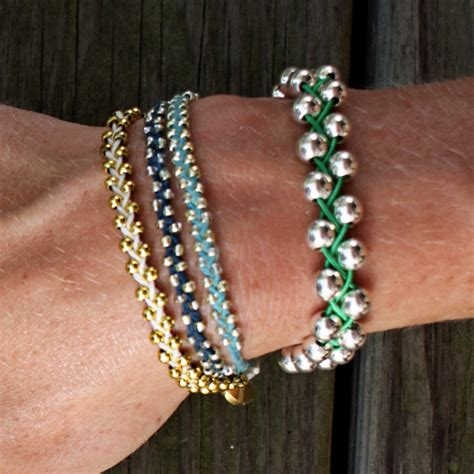 how to bead bracelets make a braided bead bracelet