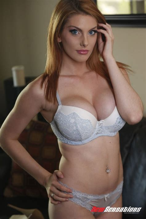 Sexy Redhead Lilith Lust Gets Banged In Her Hot Lingerie New Sensations Pictures