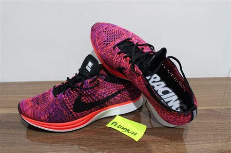 Sepatu Nike Flyknit Racer Original jual sepatu nike flyknit racer acai berry original