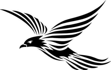 black and white bird tattoo designs 50 tribal birds tattoos