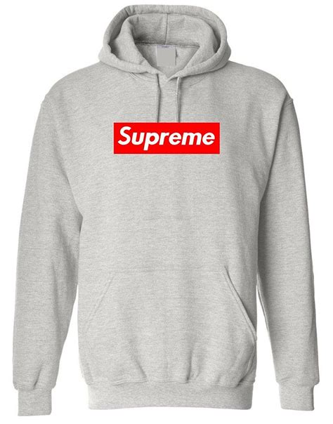 supreme hoodie uk supreme box pullover hoodie grey 85 topnoshcakes co uk