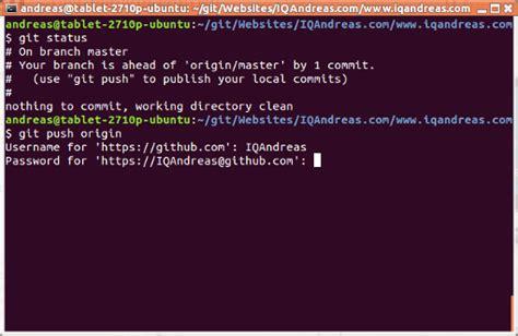 git tutorial for ubuntu in ubuntu terminal how to know which git branch am i