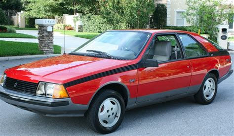 1982 renault fuego nicest one left 1982 renault fuego