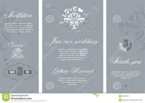 Wedding Shuttle Card Template by Wedding Invitation Stock Image Image 35397511