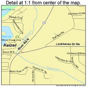 map of keizer oregon keizer oregon map 4138500