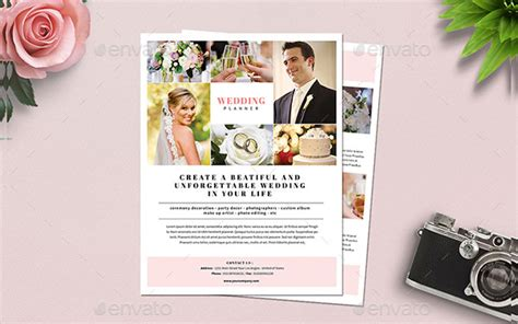 Wedding Planner Flyer by 23 Wedding Planner Flyer Templates Free Premium
