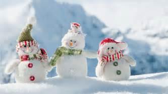 Christmas snowman family hd wallpapers widescreen 1366x768