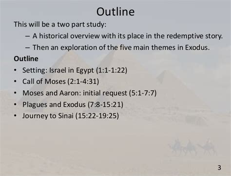 genesis chapter 22 verses 1 19 session 04 testament overview exodus 1 19