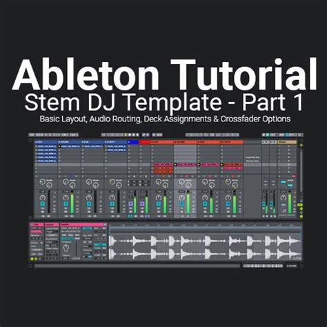 ableton dj template apc40 ableton tutorial building a basic stem dj template set