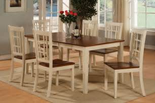 Kitchen Dining Table Set Rectangular Dinette Kitchen Dining Set Table 6 Chairs Ebay