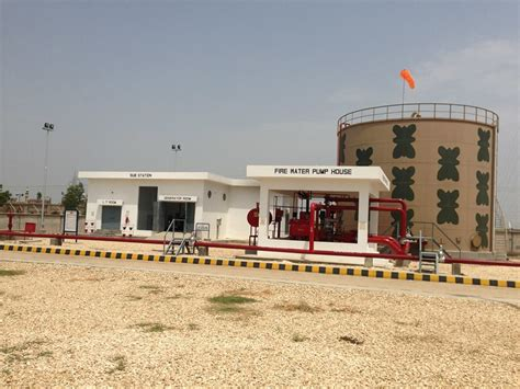 water pump house fire water pump house at hpl shikarpur terminal completed projects iiw