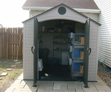 Sheds For Rabbits by Kiala Rabbit Shed