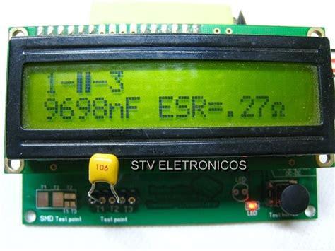 medidor de esr transistor capacitor indut resistor diodo medidor de esr transistor capacitor indut resistor diodo r 139 90 em mercado livre