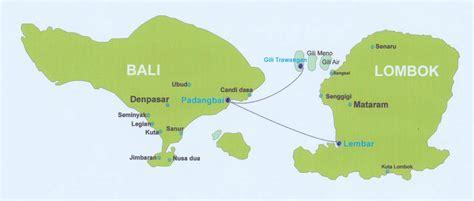 Kaos I Ve Been Lombok map of bali lombok and the 3 gili islands gili trawangan