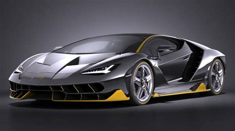 Centenario Lp 770 4 by Lamborghini Centenario Lp 770 4 2017 3d Model Max Obj 3ds