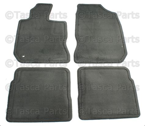 new oem dark slate gray carpeted floor mats set 2001 2005 chrysler pt cruiser ebay