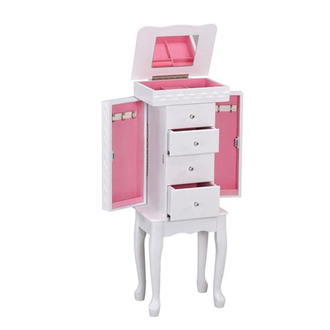 Pink Jewelry Armoire by Pink Jewelry Armoire Mirror Style Guru Fashion Glitz