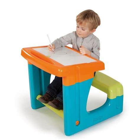 set bureau enfant smoby bureau enfant petit ecolier bleu achat vente