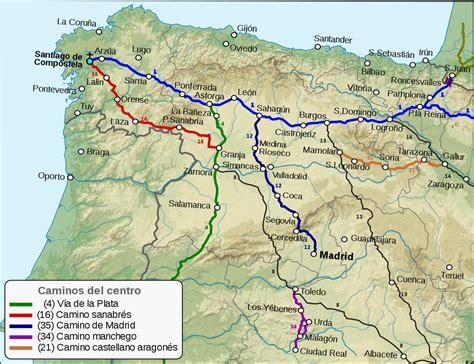 camino de santiago de compostela camino de santiago sanabr 233 s la enciclopedia libre