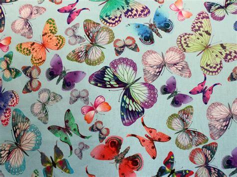 gordijnstof vlinders decoratiestoffen bedrukte polyester katoen digitale