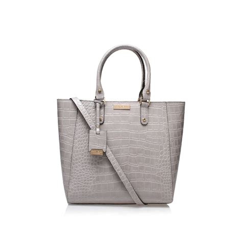 bags and lights for baggers arlette tote bag carvela arlette light grey tote bag by