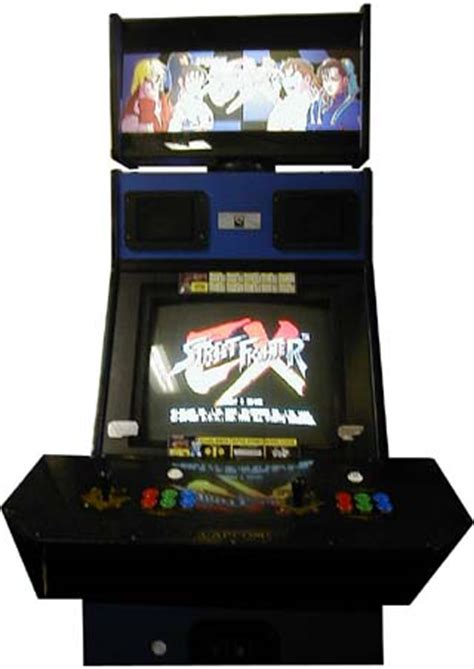 street fighter 3 cabinet street fighter ex videogame by arika capcom